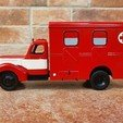 Download 3D print files Praga RN ambulance - 1/43 scale model, Marek_Dovjak