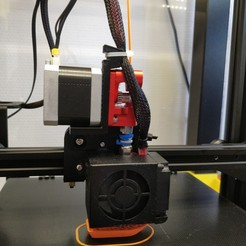 Download 3D printing files direct drive extruder double ender 3, jeromechassaing