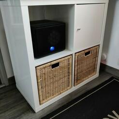 IMG_20201215_132655.jpg Download STL file IKEA pedestal stop KALLAX shelf • Design to 3D print, jeromechassaing