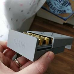 IMG_20191201_125447_01.jpg Télécharger fichier STL boite munitions 9 × 19 mm Parabellum • Design pour imprimante 3D, jeromechassaing