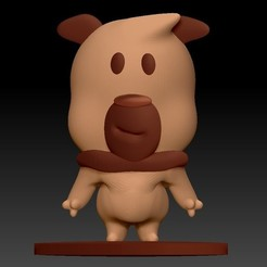 Perrito Mini Toy.jpg Download STL file Puppy Mini Toy • Object to 3D print, GarusbDigitalShop