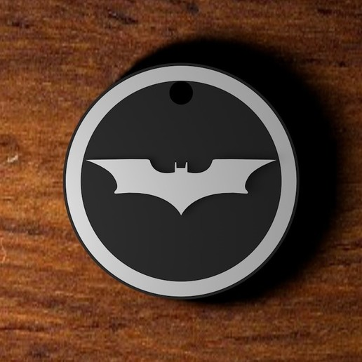 Download 3D printer designs Batman necklace, AbrahamsArellan