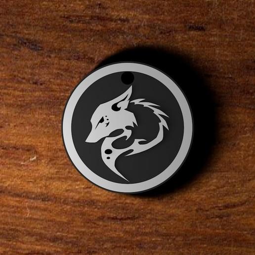 Download 3D printing files Wolf Necklace, AbrahamsArellan