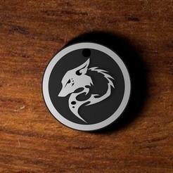 Download 3D printing files Wolf Necklace, GarusbDigitalShop