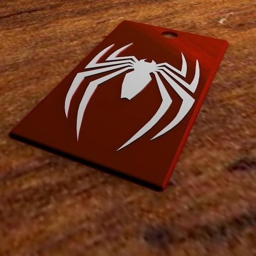 Download 3D print files Spiderman key ring, AbrahamsArellan