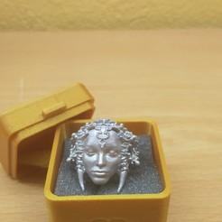 Descargar diseños 3D gratis Cajita anillo / Ring box, amg3D