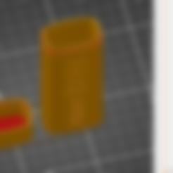 tapa estuche fck covid.stl Download STL file Estuche mascarilla f*ck covid • Design to 3D print, amg3D