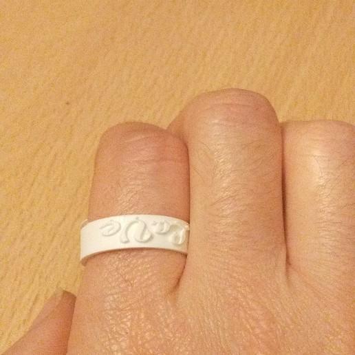 anillo love 1.jpg Télécharger fichier STL gratuit Anillo / Ring Love • Design pour impression 3D, amg3D
