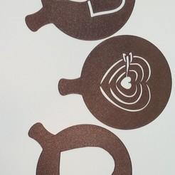 Descargar archivos STL love stencil, amg3D