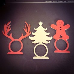 PSX_20201120_181954.jpg Download STL file 6 Christmas napkin rings • 3D print model, amg3D
