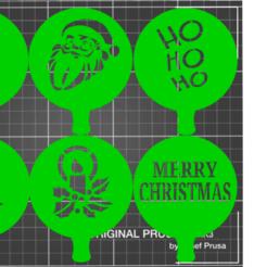 Sin título.png Télécharger fichier STL Modèle de Noël / pochoir de Noël • Objet à imprimer en 3D, amg3D
