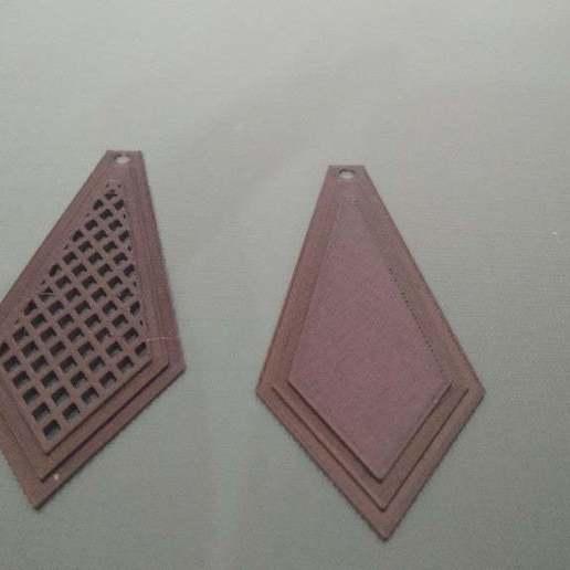 Télécharger fichier impression 3D gratuit boucles d'oreilles, amg3D