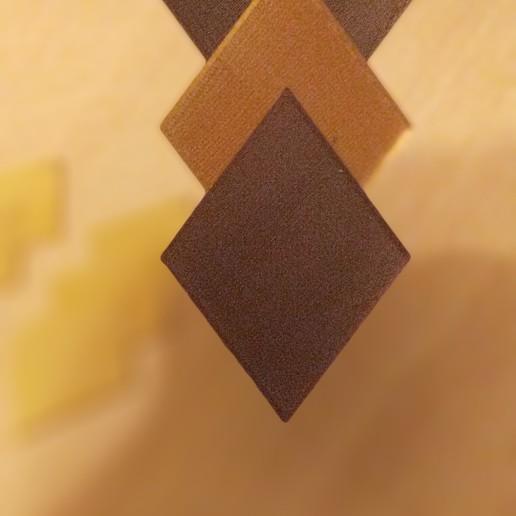pendiente marrones.jpg Télécharger fichier STL gratuit Pendiente / Boucle d'oreille • Objet pour impression 3D, amg3D