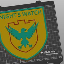 guardia de la noche.png Download STL file Night's watch • 3D printing design, amg3D