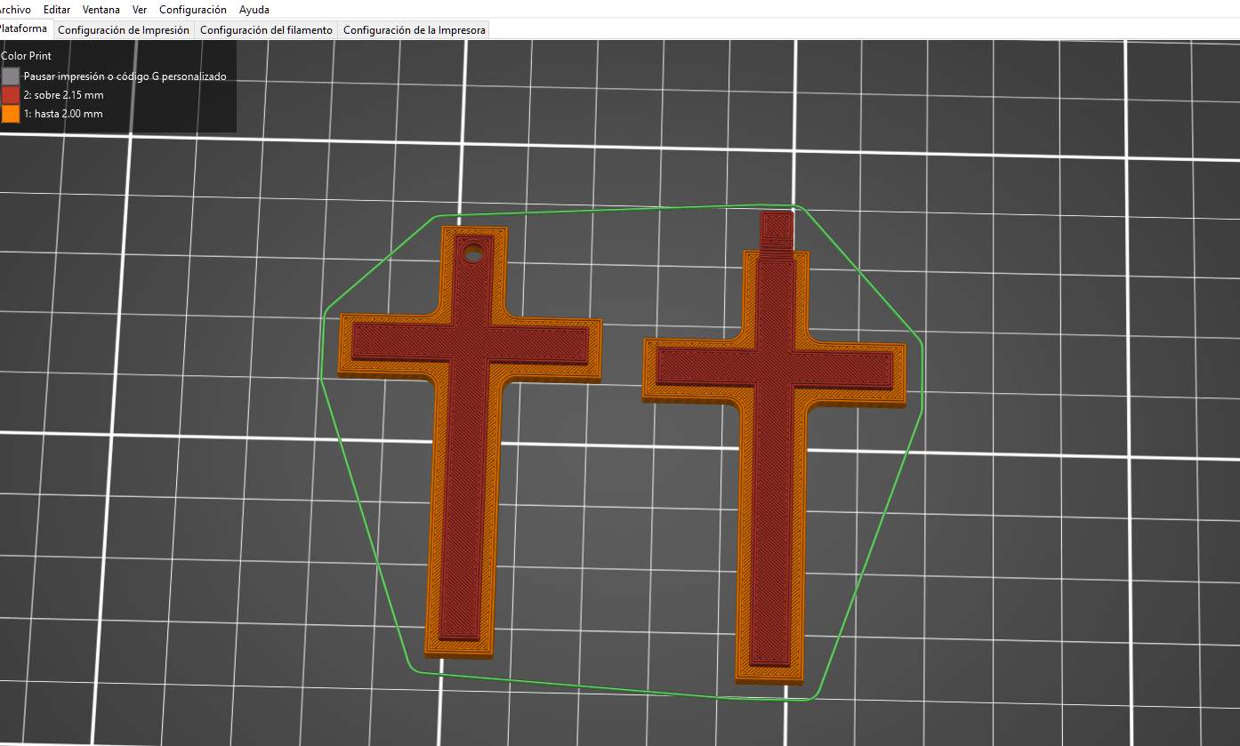 cruz 2.png Télécharger fichier STL gratuit Pendiente / Colgante • Plan pour impression 3D, amg3D
