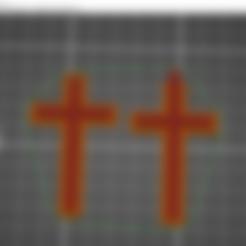 cruz (1).stl Télécharger fichier STL gratuit Pendiente / Colgante • Plan pour impression 3D, amg3D
