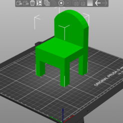 Download free STL chair, amg3D