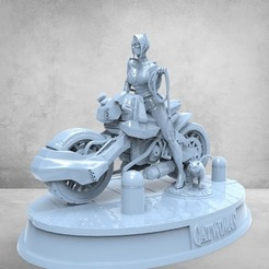 photo_2020-11-26_02-04-00.jpg Download STL file Cat woman motorcicle • 3D printable model, printable_designs_3d