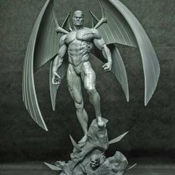 epic_statuespBjf5uzOlLCQ00.jpg Download STL file ARCHANGEL- XMEN • Template to 3D print, printable_designs_3d