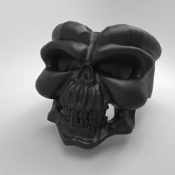 untitled.109.jpg Télécharger fichier OBJ Crâne et cornes d'animaux • Objet imprimable en 3D, Beto19