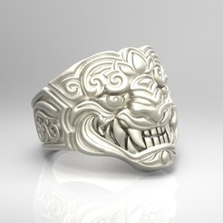 untitled.113.jpg Download OBJ file Tiger Ring • Object to 3D print, Beto19