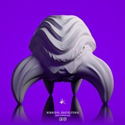 Descargar archivos STL Crab Hybrid - Cangrejo Hibrido - Escultura - STL - 3D, JhonJTR