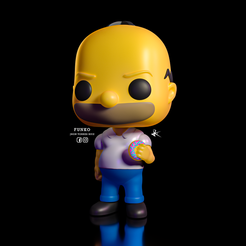 HOMERO_FUNKO_1_3.png Télécharger fichier STL HOMERO FUNKO POP COLLECTION LOS SIMPSON / HOMERO FUNKO POP COLLECTION LOS SIMPSON • Objet pour imprimante 3D, JhonJTR