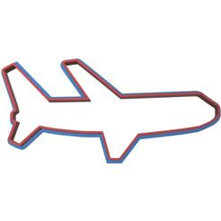 Télécharger fichier STL avion à l'emporte-pièce, LALTEZ3D