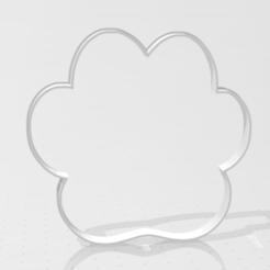 PATA DE GATO CONTORNO.png Download STL file cookie-cutter cat's paw • 3D print model, LALTEZ3D