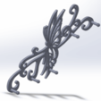 Download free STL file butterfly wall key holder • 3D printable design, Damienvon