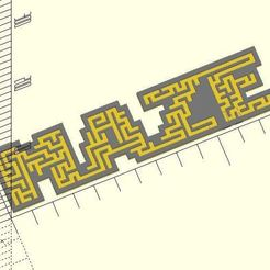 Maze.JPG Download free STL file Maze masking • 3D print object, JustinSDK