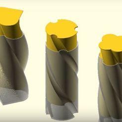 Descargar Modelos 3D para imprimir gratis Botella retorcida, JustinSDK