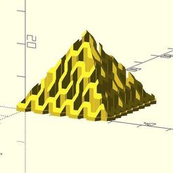 pyramid_hex_maze.JPG Download free STL file Pyramid hex maze • Model to 3D print, JustinSDK