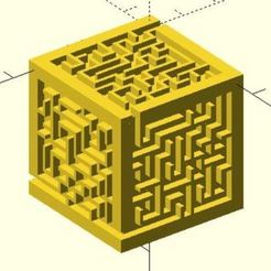 random_maze_cube_generator_with_edges_preview_featured.jpg Download free STL file Cube maze • Model to 3D print, JustinSDK