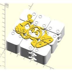 Download free 3D printing models Dancing cubes, JustinSDK