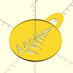 resize-fern-leaf-stencil2.jpg Download free STL file Fern leaf stencil • 3D printer model, JustinSDK