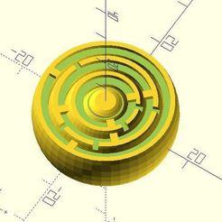 gyro_maze3.jpg Télécharger fichier STL gratuit Labyrinthe gyroscopique • Objet pour impression 3D, JustinSDK