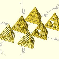 擷取1.JPG Download free STL file String tetrahedrons • 3D printing model, JustinSDK
