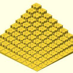 Download free 3D printer model Multiplication puzzle, JustinSDK