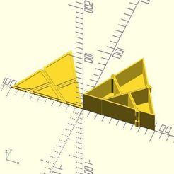 Télécharger objet 3D gratuit Triangle à boîte carrée, JustinSDK