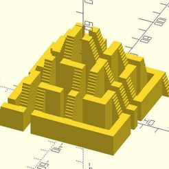 resize-step-pyramid-maze-openscad.jpg Download free STL file Step pyramid maze • 3D printable model, JustinSDK