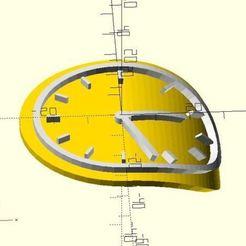 Télécharger fichier imprimante 3D gratuit Horloge fondue, JustinSDK