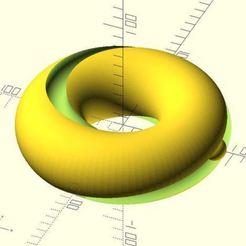 Bearing_Captured_in_Mobius_Cut.jpg Télécharger fichier STL gratuit Vase Voronoi • Plan à imprimer en 3D, JustinSDK
