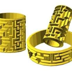 Descargar modelos 3D gratis Laberinto de cilindros, JustinSDK