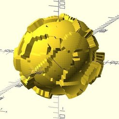worley_noise_ball2.jpg Download free STL file Worley Noise Ball • 3D print object, JustinSDK
