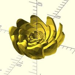 lotus.JPG Download free STL file Lotus-like flower • 3D printable design, JustinSDK