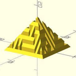 Descargar modelos 3D gratis Laberinto de pirámides, JustinSDK