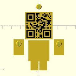 0c3761b1282ffb6d1e0d5fa5f0238fbe_preview_featured.jpg Télécharger fichier STL gratuit Codeur QR • Design pour imprimante 3D, JustinSDK