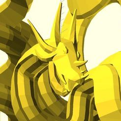 hilbert_dragon_low_poly-1.JPG Download free STL file Hilbert dragon • 3D printer model, JustinSDK