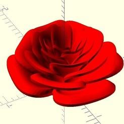 Download free STL files Rose, JustinSDK